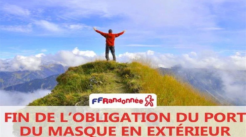 Plan de reprise des activités de randonnée en France à compter du 15 décembre 2020